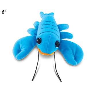 Puzzled Lobster Blue 6-inch Big-eye Plush