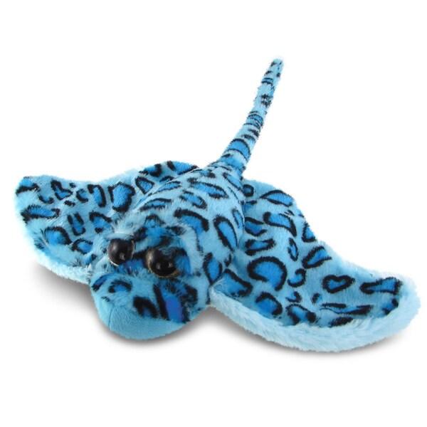 Puzzled Super Soft Plush Blue Stingray