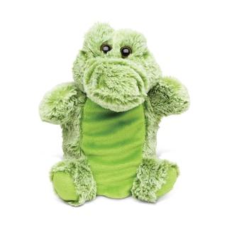 Puzzled Super Soft Plush Hand Puppet Alligator