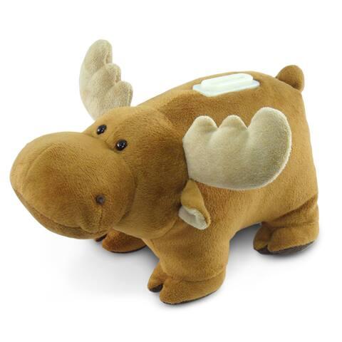 Puzzled Plush Bank Moose