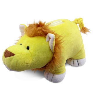Puzzled Plush Lion Coin Bank