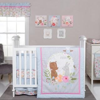 Trend Lab My Little Friends 6-Piece Crib Bedding Set