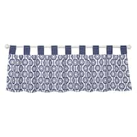 Trend Lab Hexagon Window Curtain Valance