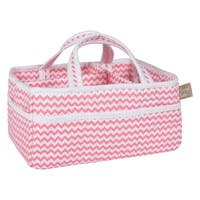 Trend Lab Coral Chevron Storage Caddy