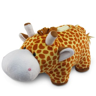 Puzzled Plush Giraffe Bank
