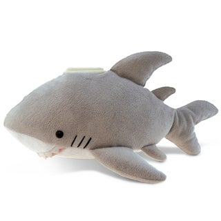 Puzzled Plush Shark Bank