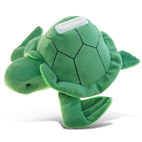 Puzzled Sea Turtle Plush Bank