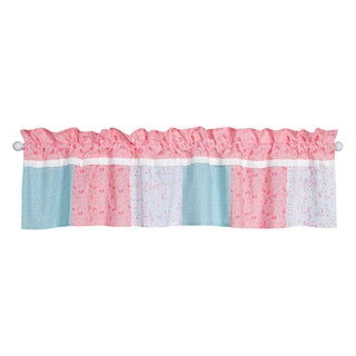 Trend Lab Wild Forever Multicolored Cotton 60-inch x 15-inch Floral Window Curtain Valance