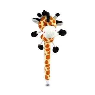 Puzzled Plush Giraffe Pen