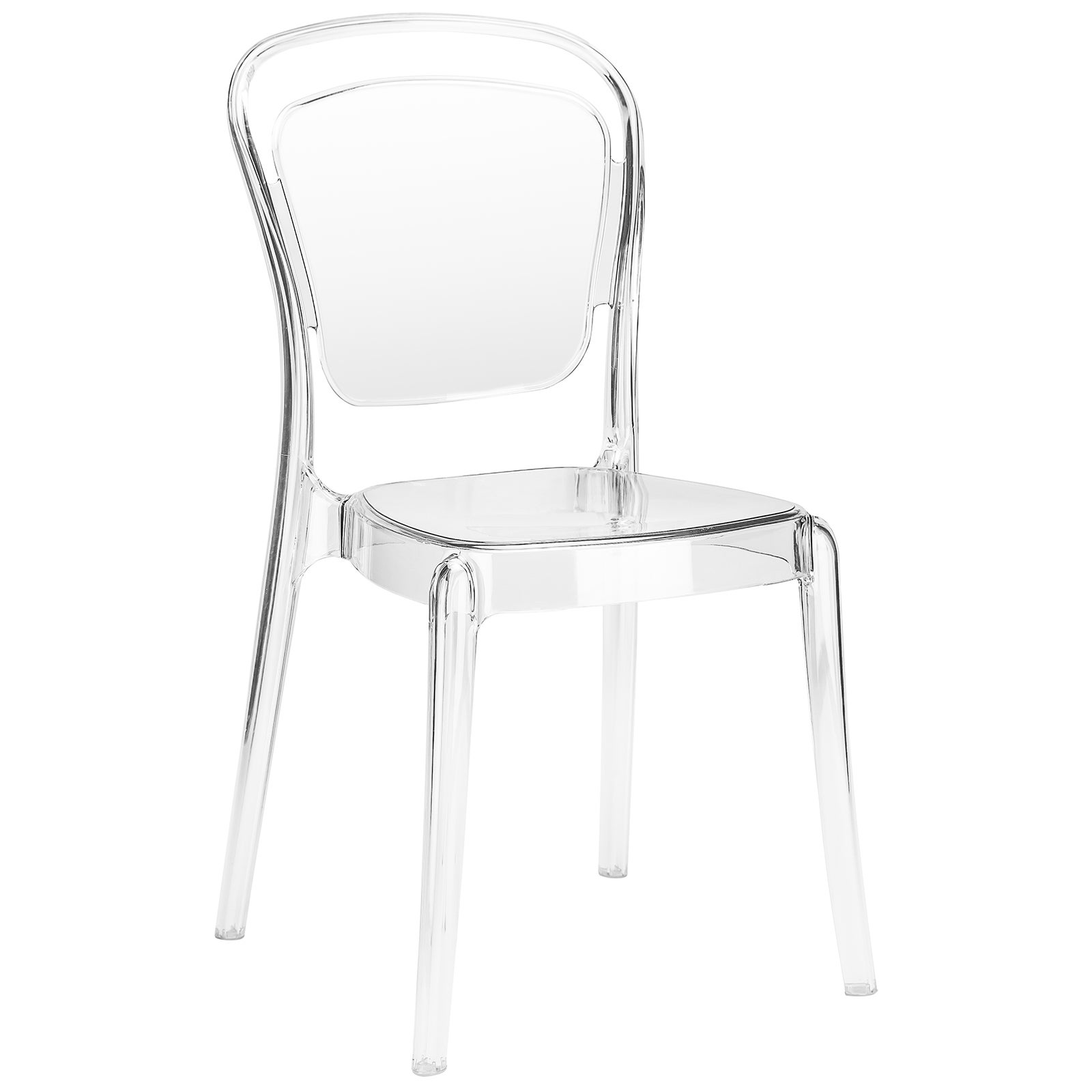Poly and Bark Lucent Dining Chair (Clear)