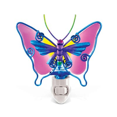 Puzzled Night Light Butterfly