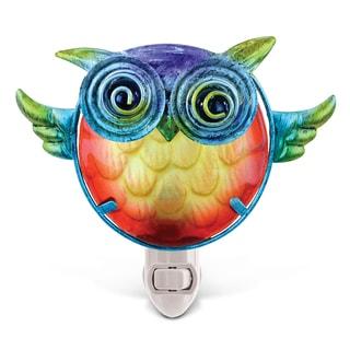 Puzzled Owl Night Light