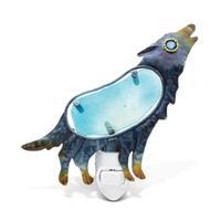 Puzzled Inc Blue Plush Wolf Night Light