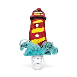 Puzzled Lighthouse Night Light