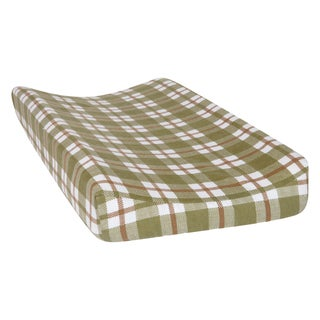Shop Trend Lab Green And Brown Plaid Deluxe Flannel
