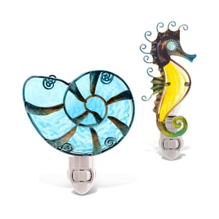 Link to Puzzled Sea Horse and Shell Night Lights Similar Items in Night Lights