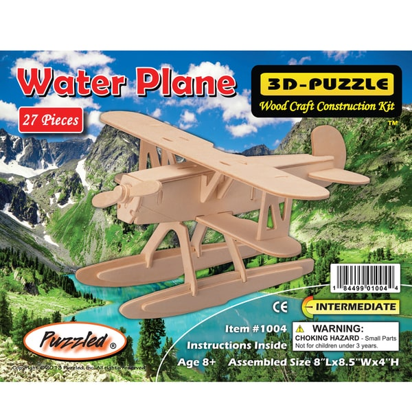 Puzzled Water Plane 3D Puzzle