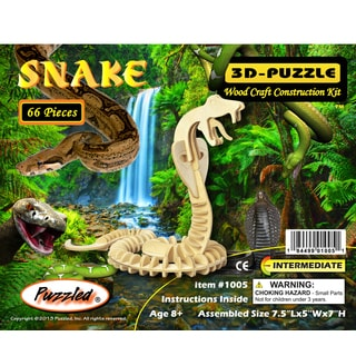 Puzzled Snake 3D Puzzle