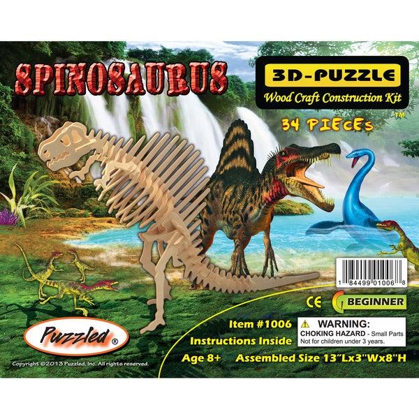 Puzzled Spinosaurus 3D Puzzle