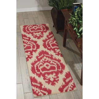 Barclay Butera Ampur Garnet Area Rug (2'3 x 7'6) by Nourison