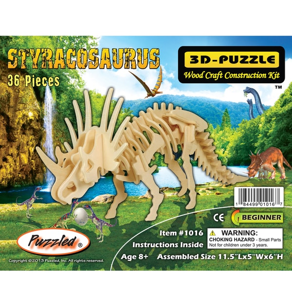 Puzzled 3D Puzzles Styracosaurus