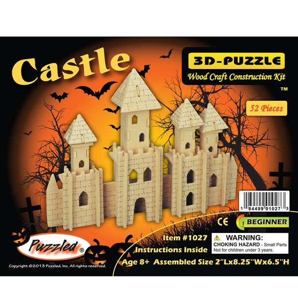 Puzzled Wood 3D Puzzle Castle