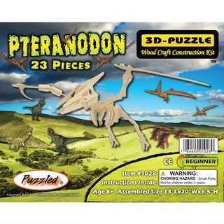 Puzzled 23-piece 3D Pteranodon Puzzle