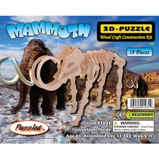 Puzzled Mammoth 3D Puzzle