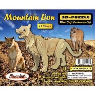 Puzzled Mountain Lion 3D Puzzle