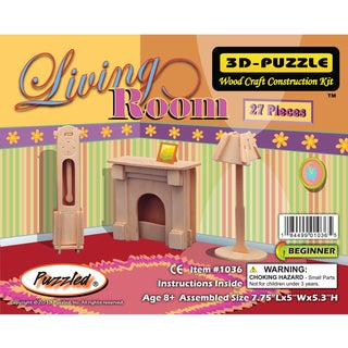 Puzzled 3D Puzzles Living Room
