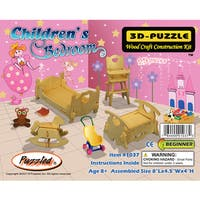 Puzzled 3D Puzzles Wood Children's Bedroom Construction Kit