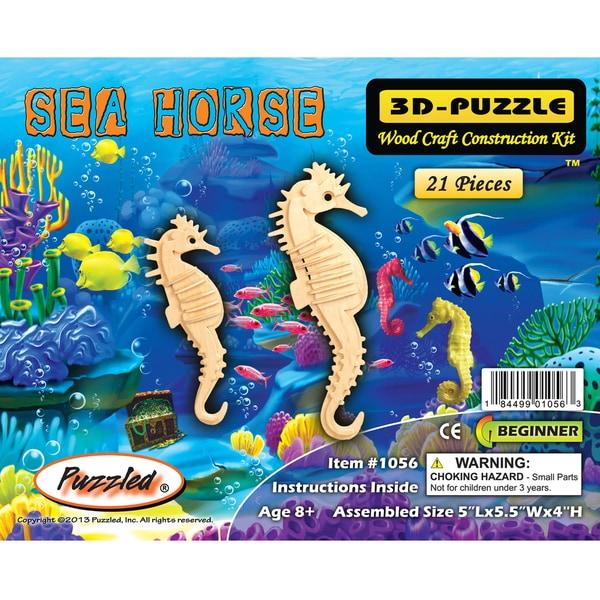 Puzzled Seahorse 3D Puzzle