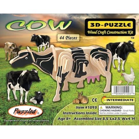 Puzzled Cow 3D Puzzle