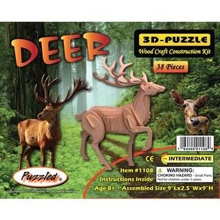 Puzzled 3D Puzzle Deer