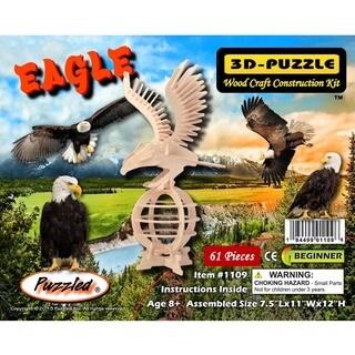 Puzzled Wood Eagle 3D Puzzle