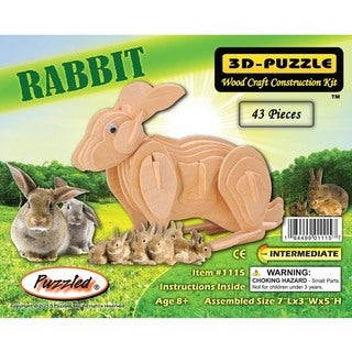 Puzzled Rabbit 3D Puzzle