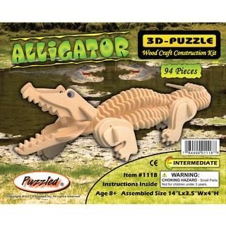 Puzzled 3D Puzzles Alligator