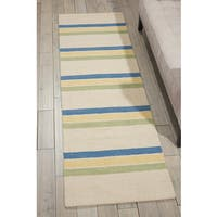 Barclay Butera Manford Cottonwood Area Rug (2'3 x 8') by Nourison