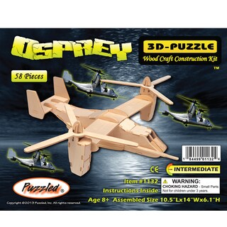 Puzzled Osprey Wooden 3D Puzzle