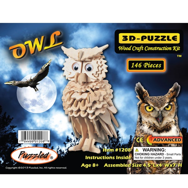 Puzzled Owl 3D Puzzle