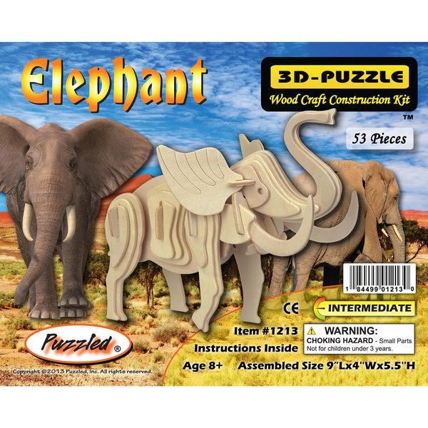 Puzzled Elephant 3D-puzzle