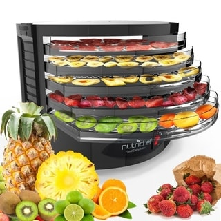 NutriChef Black Electric Food Dehydrator