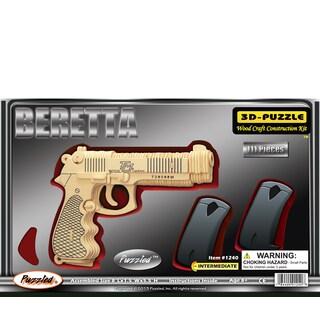 Puzzled Inc Wooden Berreta 3D Puzzles Beretta