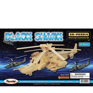 Puzzled Black Shark 3D Puzzle