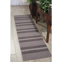"Barclay Butera Manford Shadow Area Rug (2'3 x 8') by Nourison - 2'3""x 8'"