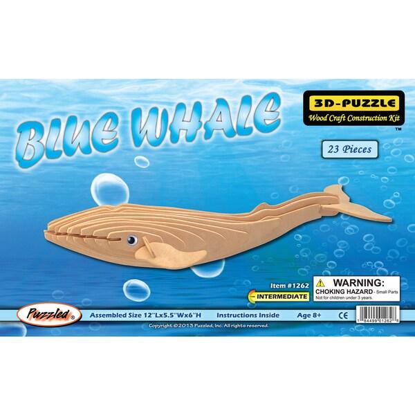 Puzzled 3D Puzzles Blue Whale