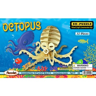 Puzzled 3D Puzzles Octopus