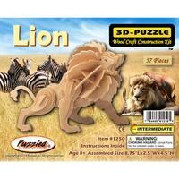 Puzzled Little Lion 3D Puzzle