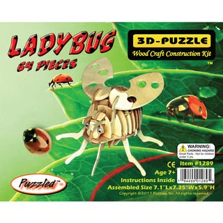Puzzled Inc. Lady Bug 3D Puzzle