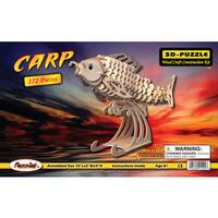 Puzzled Inc. Wood Carp 3D Puzzle